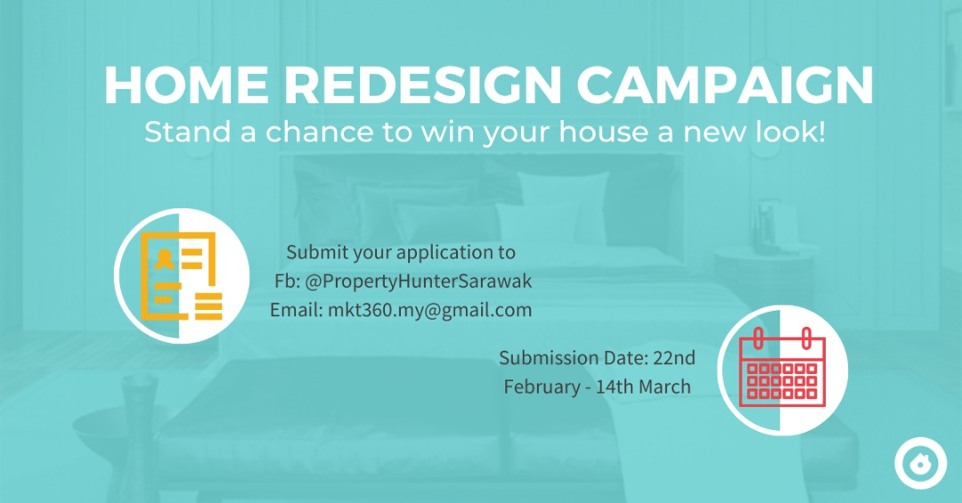 Property Hunter's Home Redesign Campaign is now open for Application